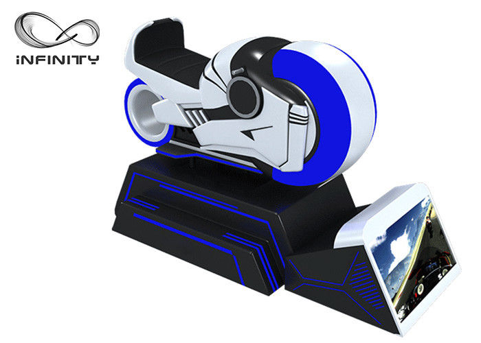 Amusement Park Virtual Reality Racing Car Simulator Real Experience