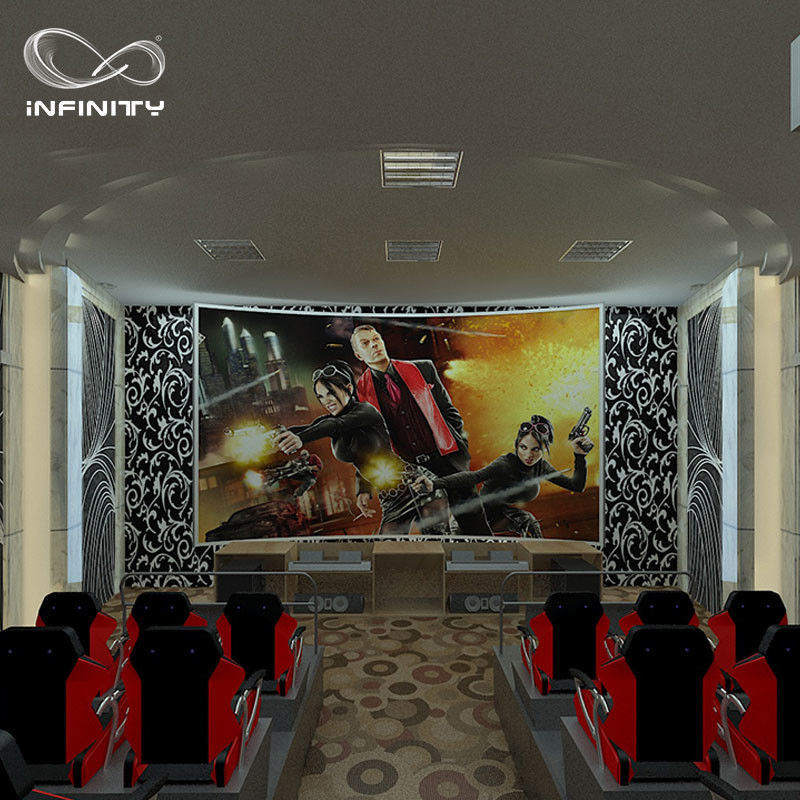 8 9 12 Seats 5D 7D Virtual Reality Cinema Hydraulic Theater Equipment